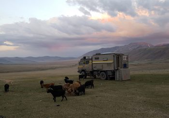 From Russia to Mongolia